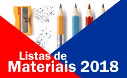 Listas de Materiais 2018
